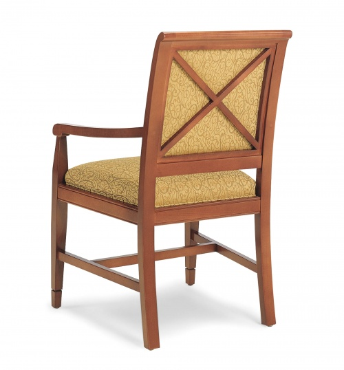 4917-1 Wood Arm Chair