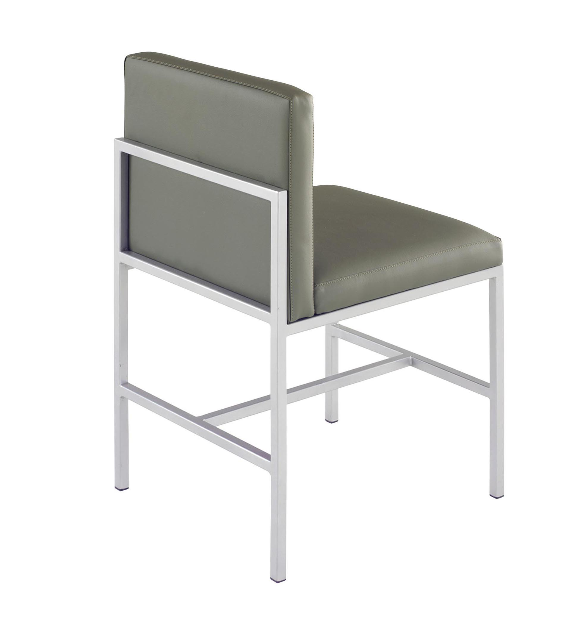 Designer metal chairs - Metal Chair Design Minimalist Aluminum Metal Chair Minimalist Alumunium Chair Series Comida Metal Chair
