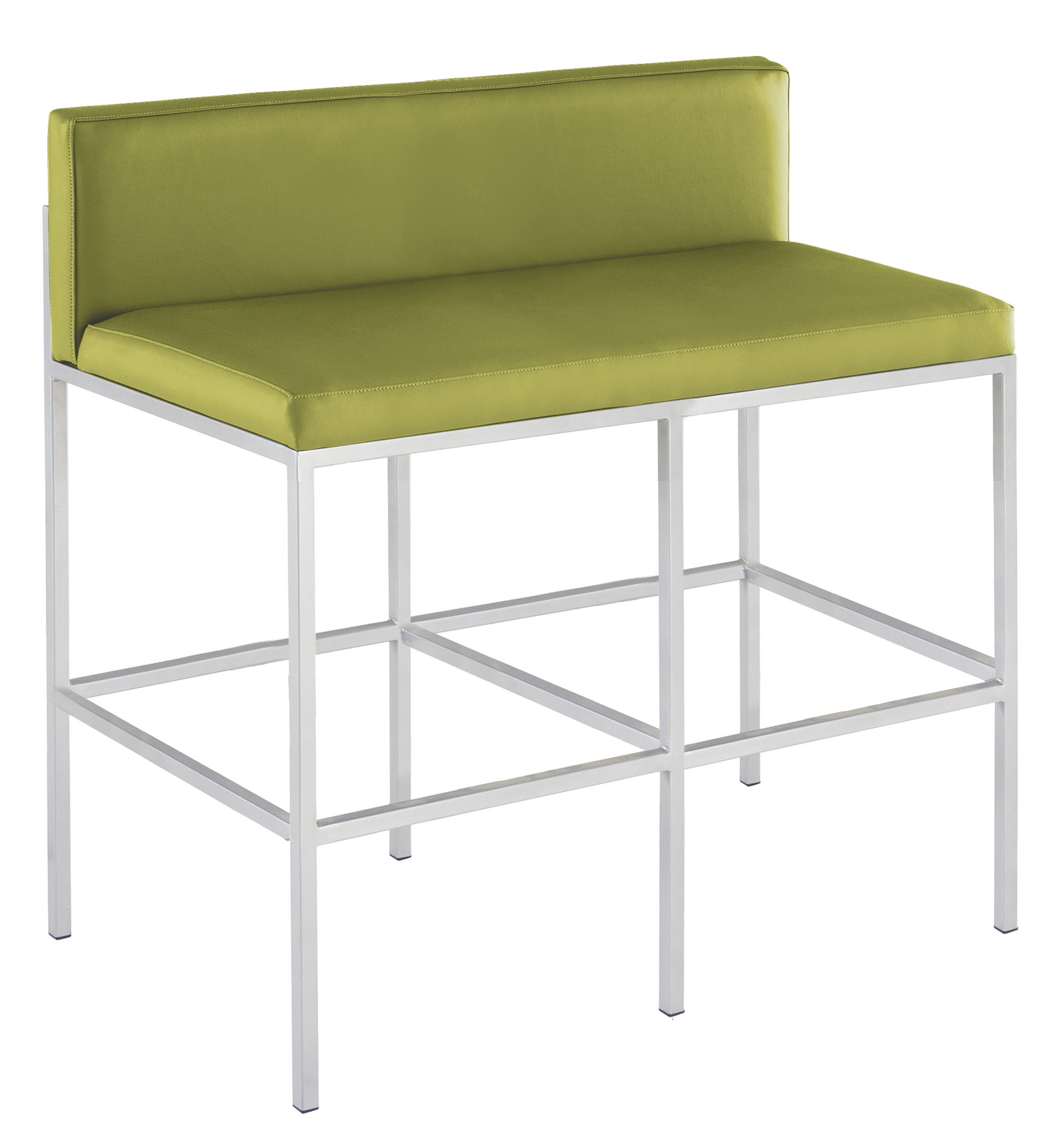 eight dining metal kahn products bench district