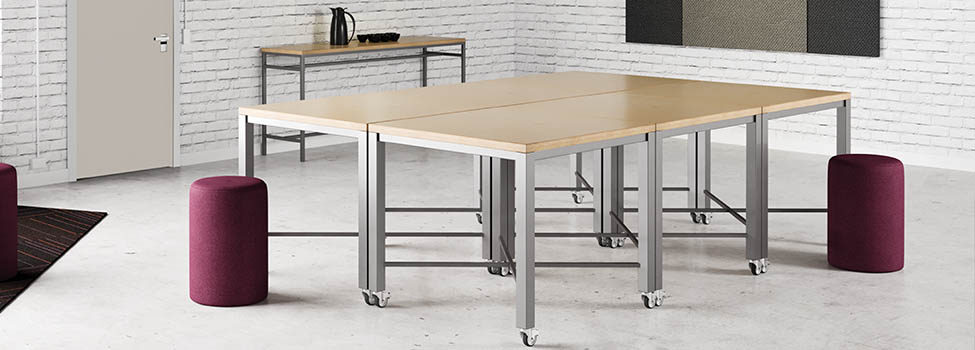 Community Tables Custom Sizes Shapes And Finishes - Community table furniture