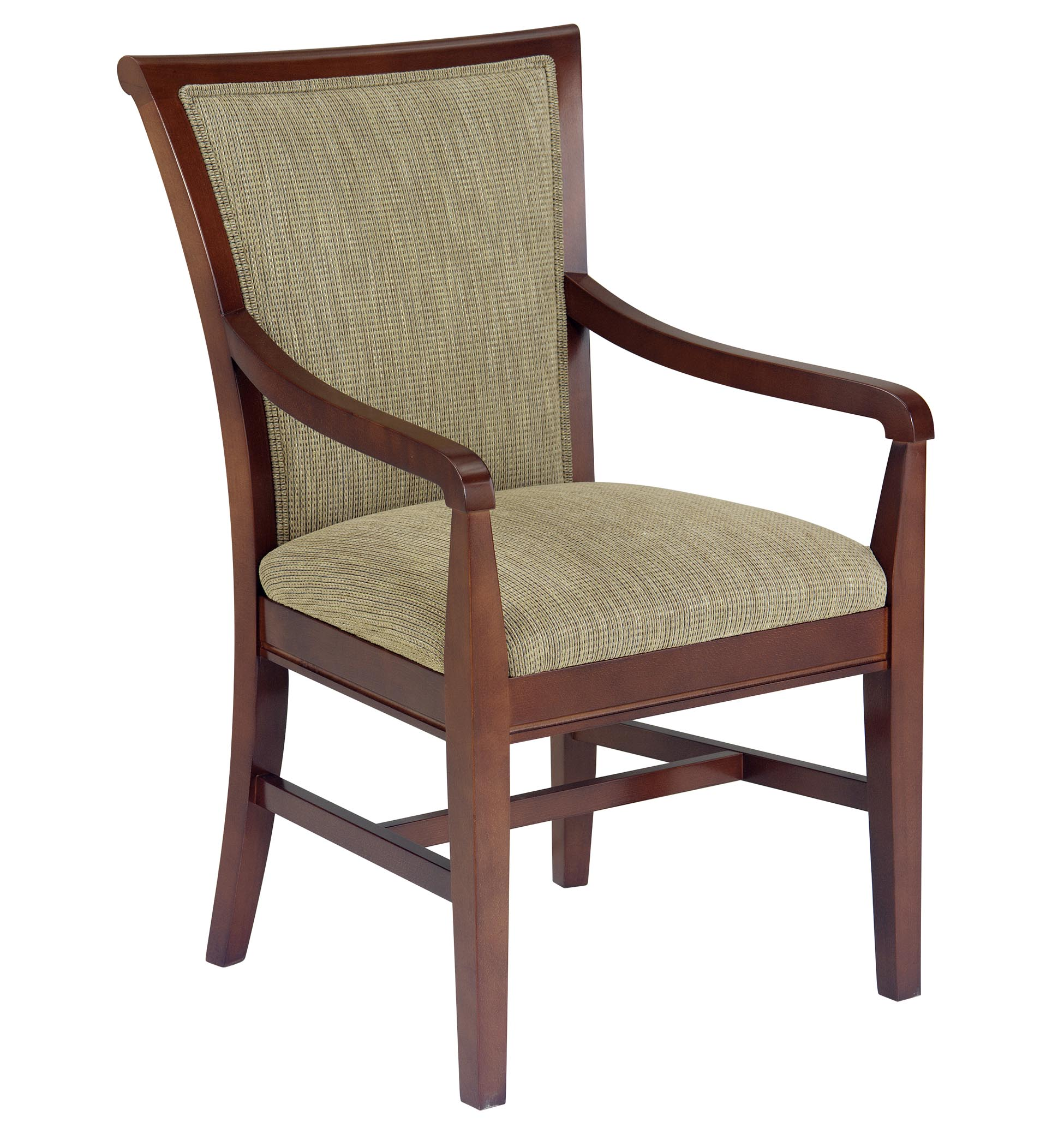 Lg1067 1 Wood Arm Chair