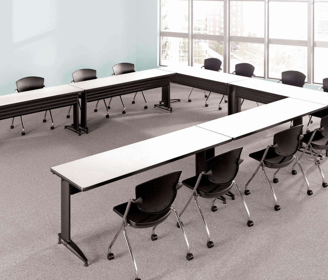 MATS TC Freestanding Stationary Tables - Conference room table mats