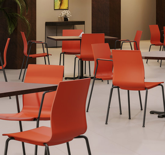 Sedera Chairs in Museum Cafe