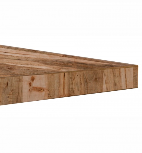 16760 Distressed Plank Wood Top