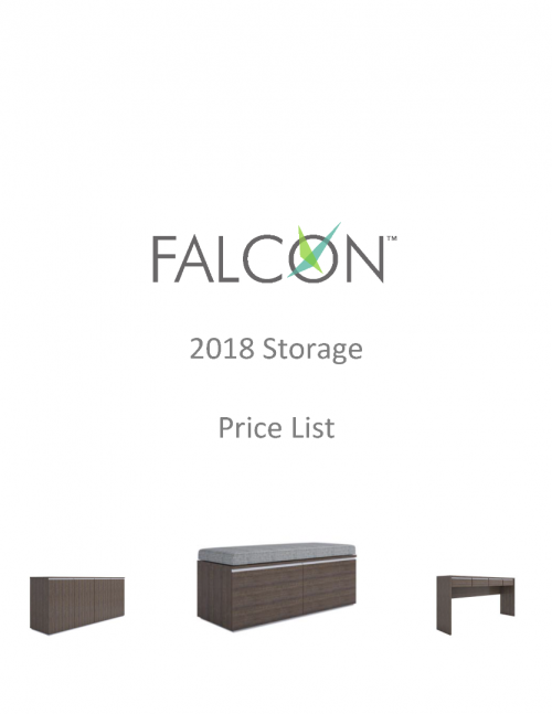 2018 Falcon Storage Price List
