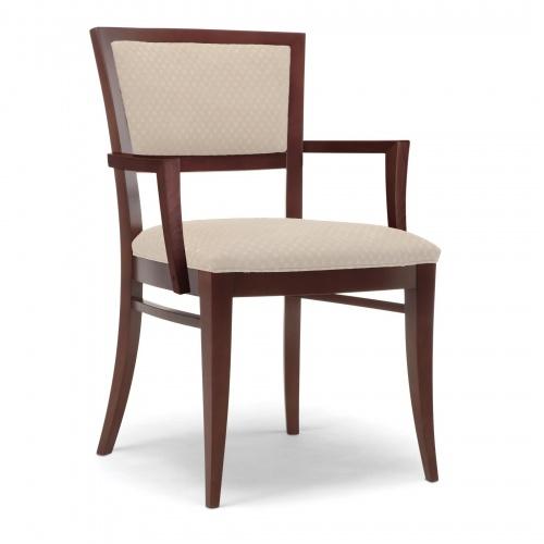 4920 1 Wood Arm Chair