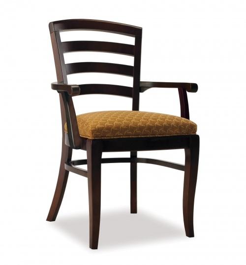 3501-1 Wood Arm Chair