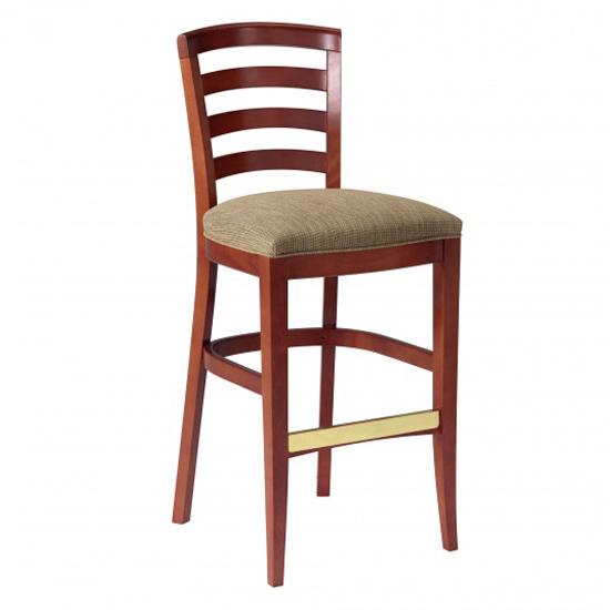 3501-2 Wood Barstool