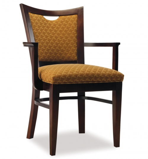 3764-1 Wood Arm Chair