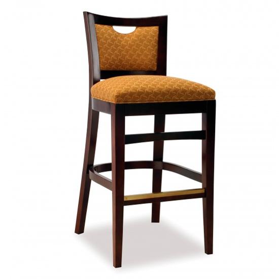 3764-2 Wood Barstool