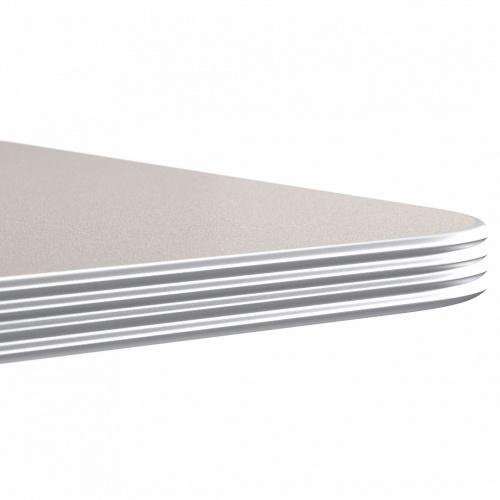 7000 Fluted Aluminum Edge Top