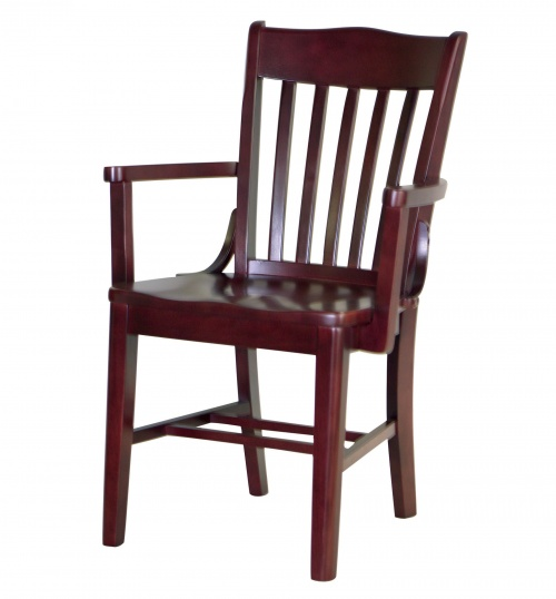 7035-1 Wood Arm Chair  sc 1 st  Falcon & Wood Chairs for Commercial Spaces