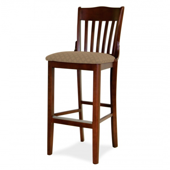 7035-2 Wood Barstool