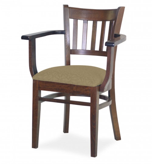 7040-1 Wood Arm Chair