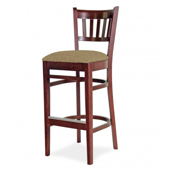 7040-2 Wood Barstool
