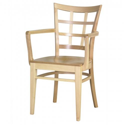 7045-1 Wood Arm Chair