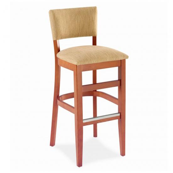 7049-2 Wood Barstool