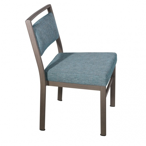 8680 Aluminum Stacking Side Chair