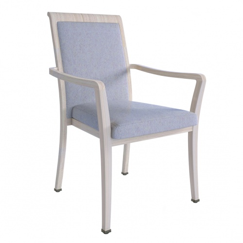 9201-1 Aluminum Stacking Arm Chair