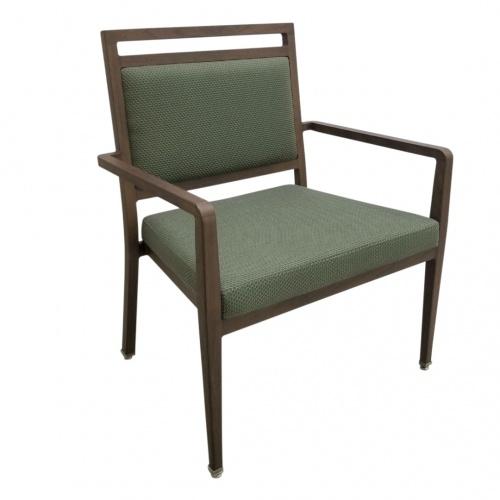 9407-1BA Aluminum Bariatric Stackable Arm Chair