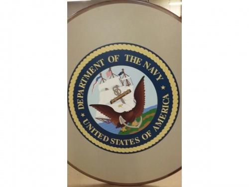 Department of the Navy - custom logo top
