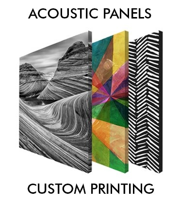 Acoustic Panels, Custom Printing