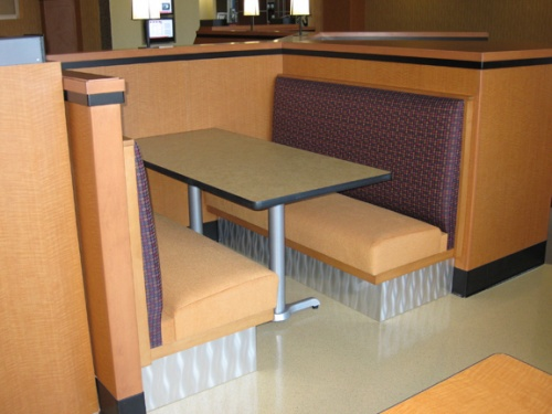 Cafe - Booths & Wallbenches