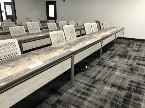 Spectra tables in classroom