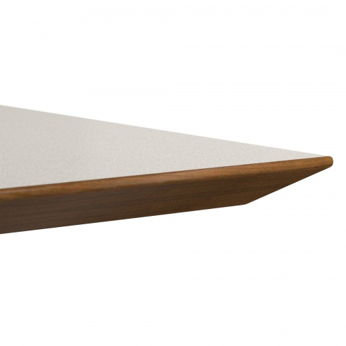 24090 Reverse Knife Wood Edge Top