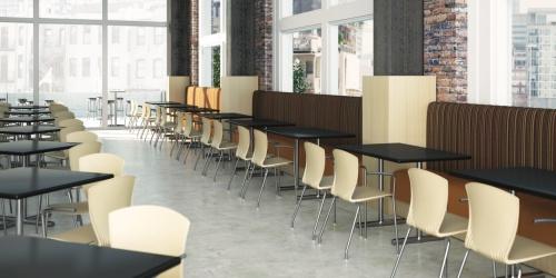 Reva Chairs in University Dining Hall