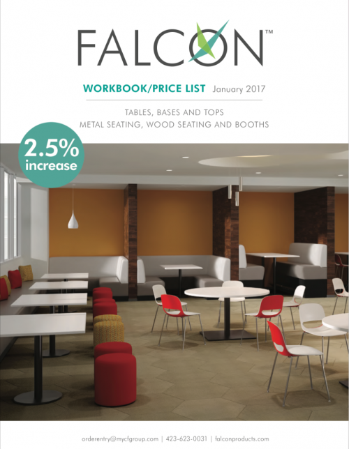 Falcon Tables & Seating 2018