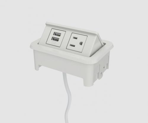 Nacre 1-Power, 1-USB-A - 72
