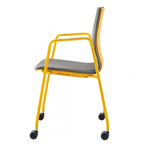 Sera Arm Chair with Casters